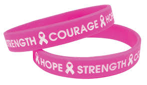 pink silicone bracelet images Pdc announces new silicone wristbands to promote national breast jpg