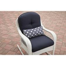 mainstays wesley creek 2 seat outdoor loveseat glider walmart com