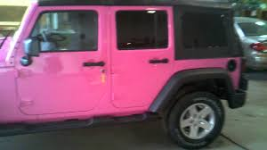 pink jeep rubicon 2013 jeep wrangler breast cancer jeep youtube