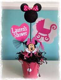 baby minnie mouse baby shower minnie mouse baby shower decoration centerpieces its a girl