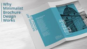 Design Minimalist More Reasons Awesome Brochure Design Is Minimalist