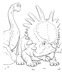 jurassic park coloring pages triceratops coloringstar
