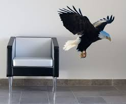 show all fun decor bald eagle wall sticker
