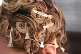 pin curl melancholy smile pin curls