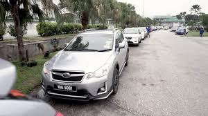 tan subaru subaru xv club malaysia penang rock harder 2017 road trip youtube