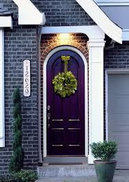 Front Door Color Painted Front Door Color Ideas Line House