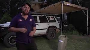 Oztrail Awning Review 4wd Supacentre Awning Tent Youtube