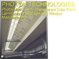 Solar Panel Curtains Photon Technologies Photovoltaic Solar Panel Laminates For