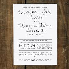 calligraphy invitations calligraphy wedding invitation stationery by feel wedding