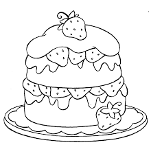 strawberry shortcake coloring pages to print cupcake strawberry coloring page cupcake sweets pinterest