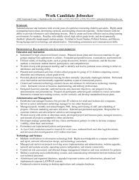 Teaching Resume Sample by High Science Teacher Resume Resume Examples 2017
