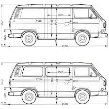 volkswagen transporter t3 1979 blueprint download free blueprint
