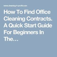best 25 cleaning contracts ideas on cleaning services