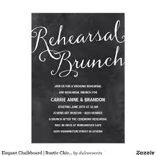 rehearsal brunch invitations chalkboard rustic chic rehearsal brunch card this