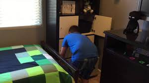 Minecraft Bedroom Furniture Real Life by Cameron U0027s Minecraft Themed Bedroom Surprise Youtube