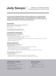Best Resume For College Students by Front Runner Resume Resume For Your Job Application