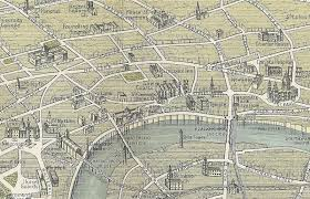 Birds Eye View Map The Family Recorder Mappy Monday London A Birds Eye View