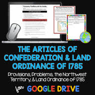 articles of confederation northwest territory u0026 land ordinance of