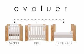 cocoon evoluer cot mattress set babyroad