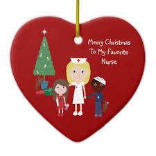 Nurse Christmas Ornament - kawaii 50 cute holiday decorations cute gift ideas