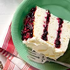 white cake u0026 cranberry filling u0026 orange buttercream recipe myrecipes