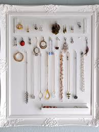 how to make a diy wall jewelry organizer hgtv u0027s decorating