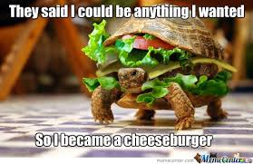 Burger Memes - culture the word on cheese
