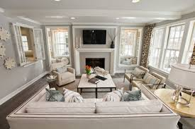Contemporary Cottage Living Rooms Modern Cottage Dream Home In - Cottage living room paint colors