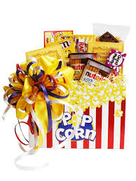 Movie Themed Gift Basket Build A Basket Movie Night Gift Basket