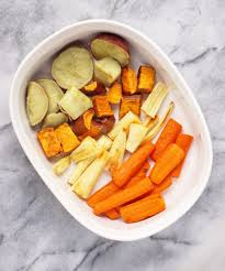 roasted root veggies the thanksgiving side