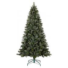 7ft prelit artificial tree blue green balsam fir clear