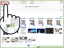 4 6 photo albums how to create photo albums on an with pictures wikihow