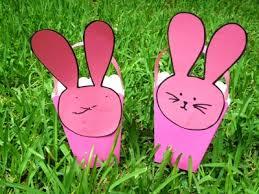bunny easter basket easy bunny easter basket my kid craft