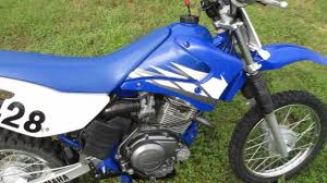 yamaha tt125 electric start dirt bike fmf exhaust redy to ride