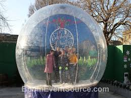 Photo Booth Rental New Orleans Giant Snow Globe