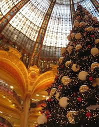 paris christmas gallery lafayette by s peter keep rolling under