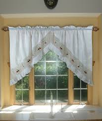 swag curtains for kitchen trends including best images about