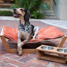 hammock bed bambu nautical hammock dog bed orange
