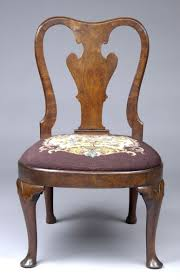 Leather Queen Anne Chair Queen Anne Chair With Arms
