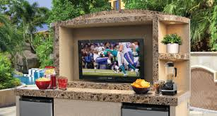 Outdoor Entertainment Center by Outdoor Entertainment Center At Calflamebbq Com