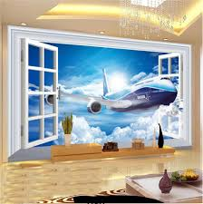online buy wholesale airplane wallpaper murals from china airplane