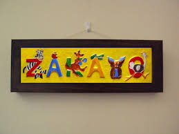 baby name plates by injete personalized gifts custom nameplates and signs