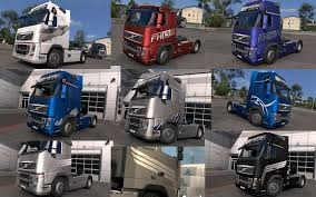 volvo south africa trucks volvo fh 2009 skin pack 1 24 modhub us