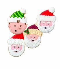 wilton santa claus comfort grip cookie cutter