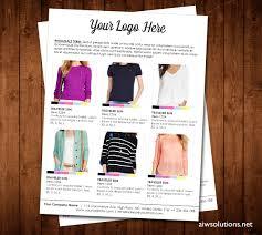 Wholesale Price Sheet Template Custom Catalog Custom Line Sheet Line Sheet Design Template How