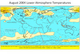 World Temperature Map by C3 Agw Temperature Instrumental Records