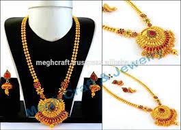 gold rani haar sets wedding wear one gram gold plated jewellery bridal