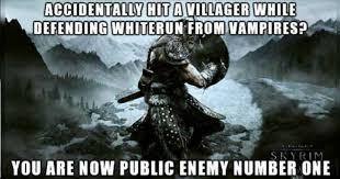 Video Game Logic Meme - fail blog skyrim epic fails funny videos funny fails