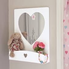 Shaped Bathroom Mirrors by Sweetheart Wall Mirror Dressing Tables U0026 Mirrors U0026 Jewellery
