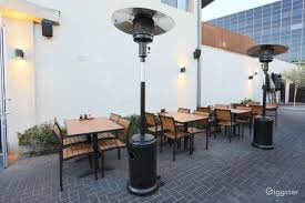 rent patio heater rent modern ramen cafe restaurant cafe commercial for film